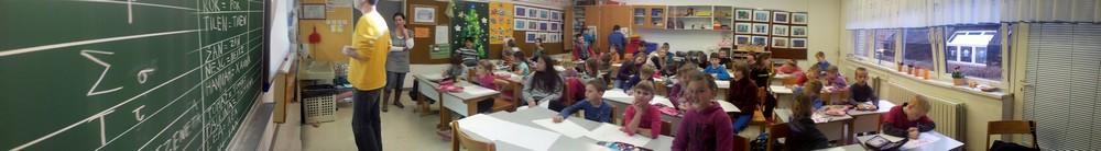 Grška šola za učence 2. in 6.b razreda